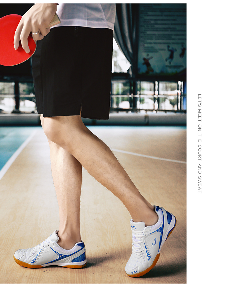 Мужская обувь унисекс для профессионального настольного тенниса; Нескользящая дышащая обувь для тенниса; женские кроссовки для тренировок в помещении; обувь для гандбола