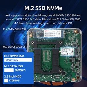 Image 5 - إنتل كور كمبيوتر مصغر i9 9880H i7 9750H i5 9400H 8 النوى 2 * DDR4 M.2 SSD HDMI DP 4K 60fps 5 * USB Type C واي فاي بلوتوث ويندوز 10