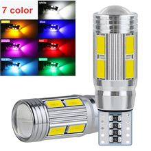 W5W T10 LED Canbus No error 12V 6000K 5630 10 SMD 5W5 LED Car Light Clearance Wedge Side Turn Singal Bulb Super Bright White