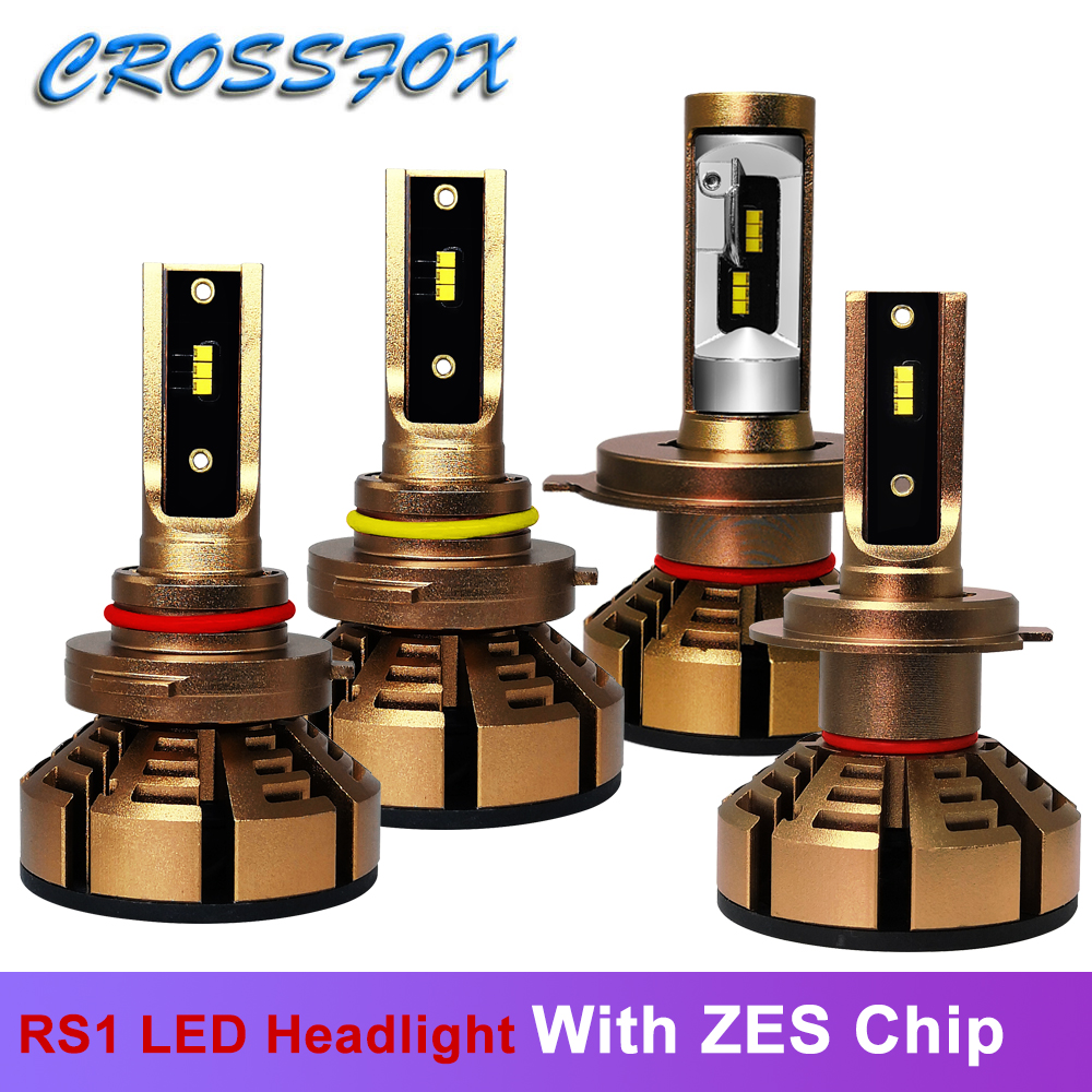 LED h7 h4 Auto Bulbs With Luxeon Lumiled ZES Chip Headlight Car Light H8 H9 H11 9005 HB3 9006 HB4 HB2 9003 Headlamp