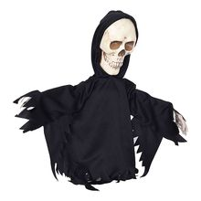 Halloween Decorations Grim Reaper Electric Scary Prank Ghost Skull Haunted House Horror Props Party Toys