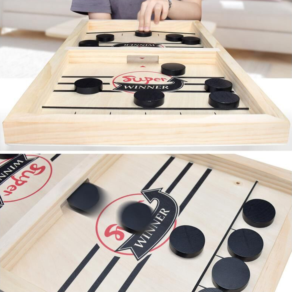 Fast Hockey Sling Puck Game Paced Sling Puck Winner Fun Toys Board-Game Party Game Toys For Adult Child Family Hot In Sale