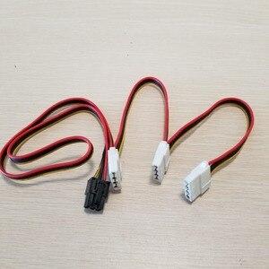 Image 1 - بطاقة جرافيكس 6Pin محول إلى 3 x 4Pin كابل الطاقة 18AWG للكمبيوتر DIY بها بنفسك 70 سنتيمتر