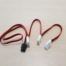 Grafische Kaart 6Pin Adapter Om 3 X 4Pin Power Kabel 18AWG Voor Pc Diy 70Cm