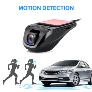 Image 3 - جهاز تسجيل فيديو رقمي للسيارات صغير كاميرا بـ USB داشكام كامل HD مسجل فيديو G الاستشعار للرؤية الليلية كاميرا عدادات السيارة لنظام أندرويد USB DVR