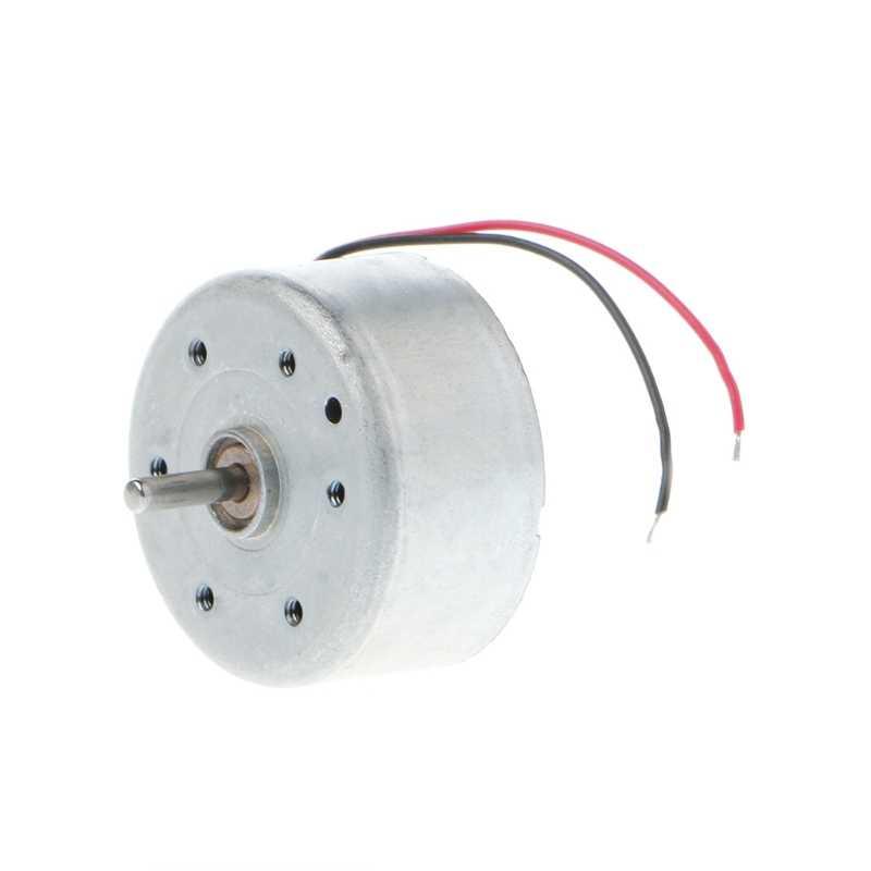 Mini Micro 300 energía Solar Motor 5500RPM DC 3V -6V juguetes partes