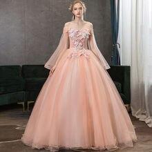 Бальное платье с открытыми плечами пышные платья vestido de