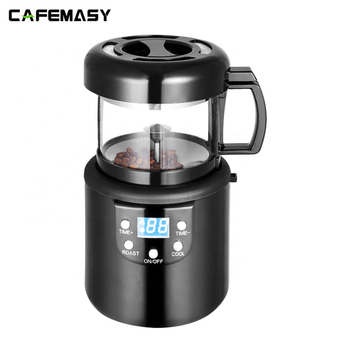 220V Coffee Accessories Home  Coffee Roasting Machine Household Baking Roasted Bean Machine Coffee Roaster 80g 2