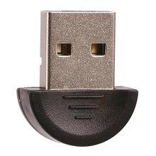 цена на Mini USB Bluetooth Adapter V 2.0 Dual Mode Wireless USB Dongle V2.0 EDR 100m For Laptop PC Win 7/8/10/XP Bluetooth USB Dongle