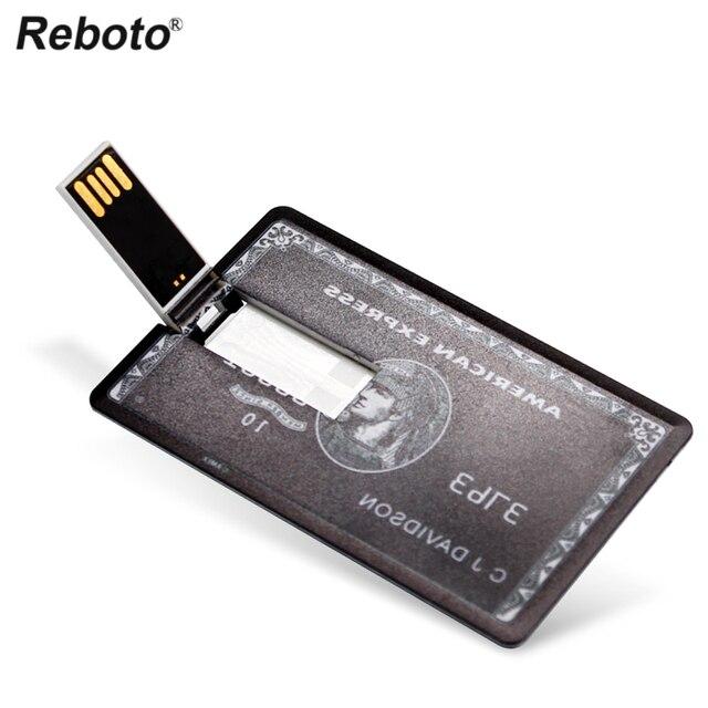 USB Flash Drive High Speed Bank Credit Card USB Flash Pen Drive 4GB 8GB 16GB Pendrive 32GB 64GB USB флэшка Memory Disk USB Stick 3