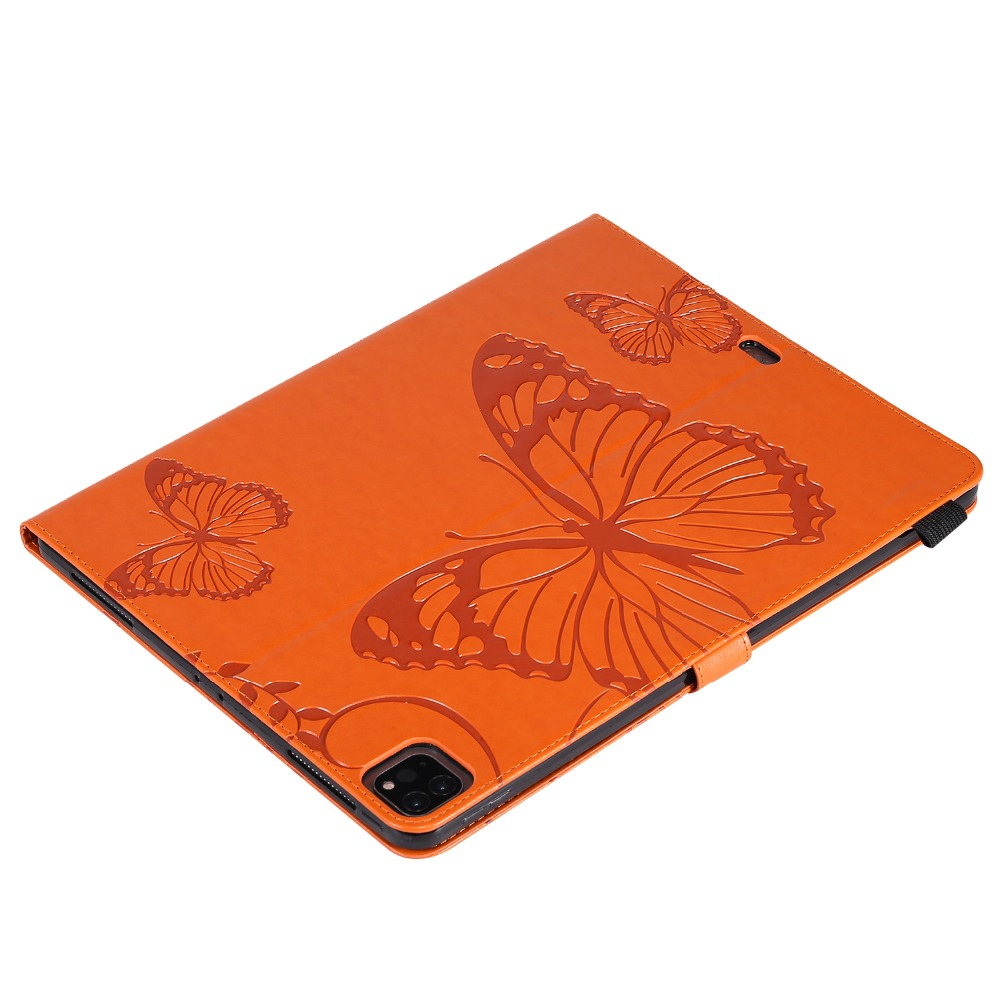 Folding 2020 For Butterfly Cover Pro 2018 12.9 iPad Tablet Fundas Case Folio Embossed