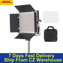 Andoer – lampe vidéo à intensité variable, panneau lumineux bicolore 660 3200 K avec support U, éclairage de porte dentrée pour tournage vidéo en Studio, 5600 K