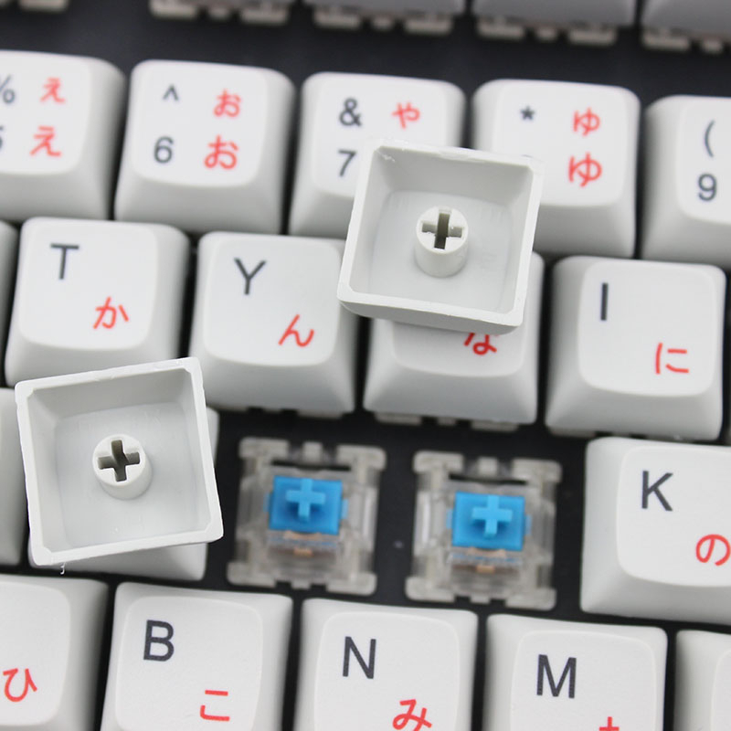 Japanese root Cherry profile XDA keycaps for mechanical keyboard 104 Japan font language Dye Sub Keycap PBT gh60 xd60 tada68 87 in Keyboards from Computer Office