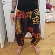 Pantalones Lower-Leg Wide-Leg-Trouser Linen Plus-Size Cotton Casual Women Hip-Hop Colour