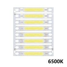 8 Uds 1W 3W 5W 300mA COB luz LED Chip 3V 9V 12V 15V 17V para la linterna lámparas de pared luces LED tubo DIY