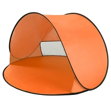 Orange Outdoor Camping Tents Instant Up Tent Baby Beach Tent Cabana Portable Anti Uv Sun Shelter For Camping Fishing Hiking automatic camping tent 2 persons beach tent uv protection shelter outdoor tent instant pop up summer tent fishing hiking