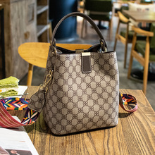 Brand Women Leather Casual Tote Bag Big Capacity Handbag For Solid Top Handle Female Shoulder Bag Girl Bucket Bag