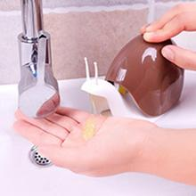 Snail Shape Soap Dispenser Cosmetics Bottles Bathroom Hand Sanitizer Shampoo Body Wash Lotion Bottle Empty Travel Bottle
