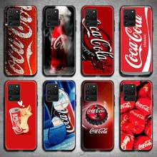 Bebida cola caixa do telefone para samsung galaxy s20 fe plus ultra s6 s7 borda s8 s9 mais s10 5g lite 2020