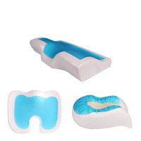 A Generation of Fat Gel Pillow Memory Foam Pillow Interior Slow Resilience U pillow Seat Cushion Silicone Pillow Manufacturers W