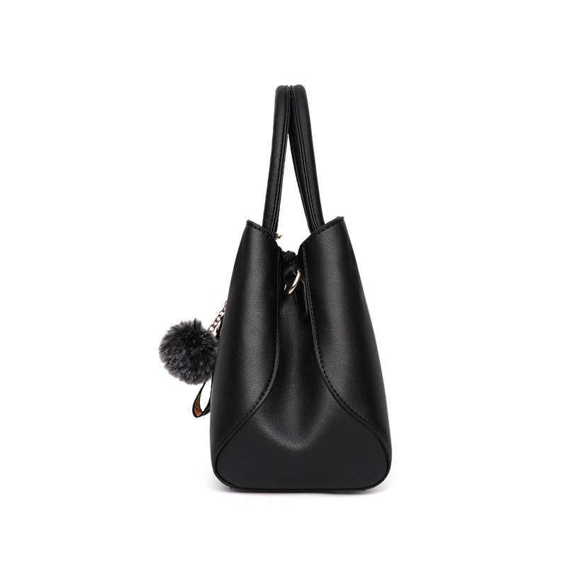 2019 broderie PU cuir sac à main pour femmes fille sacs de messager avec balle jouet Bolsa femelle sacs à bandoulière dames fête Messenge