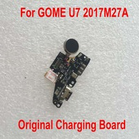 100% Original Tested Working Charge Port Connector USB Charging Dock Board Flex Cable For GOME U7 2017M27A USB Charge Board