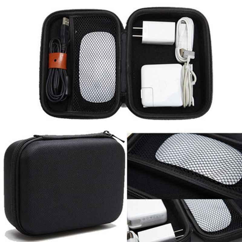Eva Hard Case Voor Apple Potlood Magic Mouse Magsafe Power Adapter Carry Case