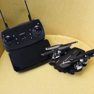 Image 5 - 新しいインテリジェント折りたたみ rc ドローン高 hd 無線 lan カメラ 360 回転 fpv quadcopter 安定したジンバルヘッドレスプロ dron