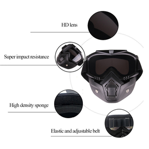 Image 5 - Outdoor Cycling Airsoft Mask Full Face Helmet Paintball Mask Airsoft Safety Protective Anti fog Goggle Protective Tactical Mask