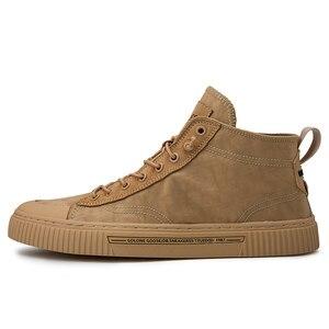 Image 3 - 2020 חדש נעלי גברים נעליים יומיומיות גבוהה למעלה סניקרס גברים גופר נעלי פלטפורמת סניקרס באיכות גברים של סניקרס Masculinas מגפיים