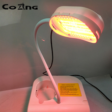 Blue led light face phototherapy machine particularly stimulating collagen eliminate wrinkles moistfull collagen