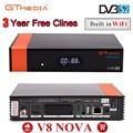 1080P HD DVB-S2 GTmedia V8 Nova Cccam Cline спутниковый ТВ-приемник  встроенный WIFI power by Freesat V8 Super 3 year Europe Cline
