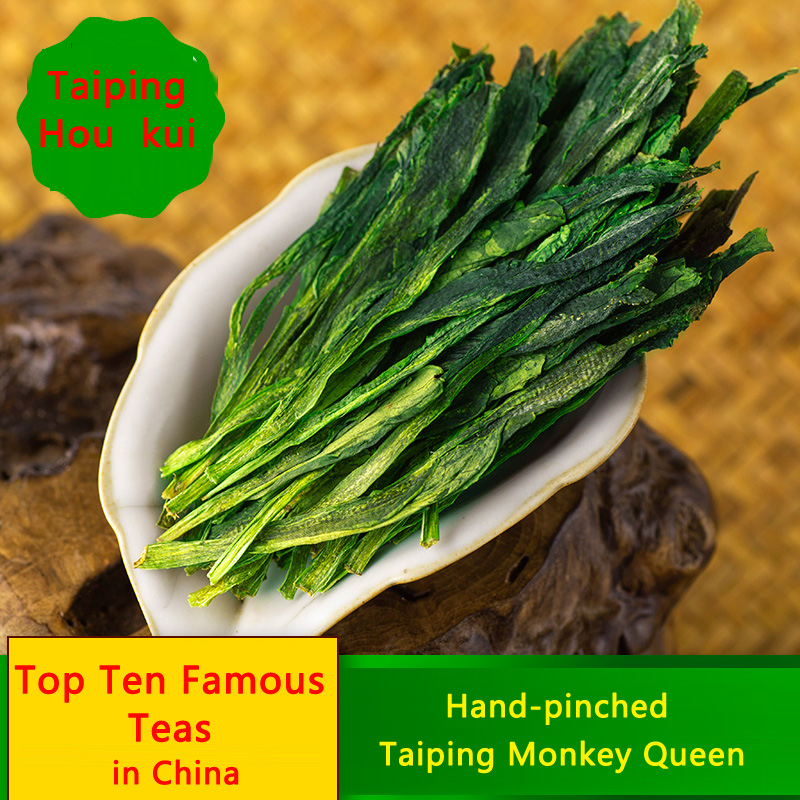 Hand-pinched, Huangshan, New, Spring, Green, Tea