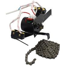 1 комплект инкубатор автоматический поворот яиц Системы 220V 100 см цепь промышленной Включите плотные яиц мотор с