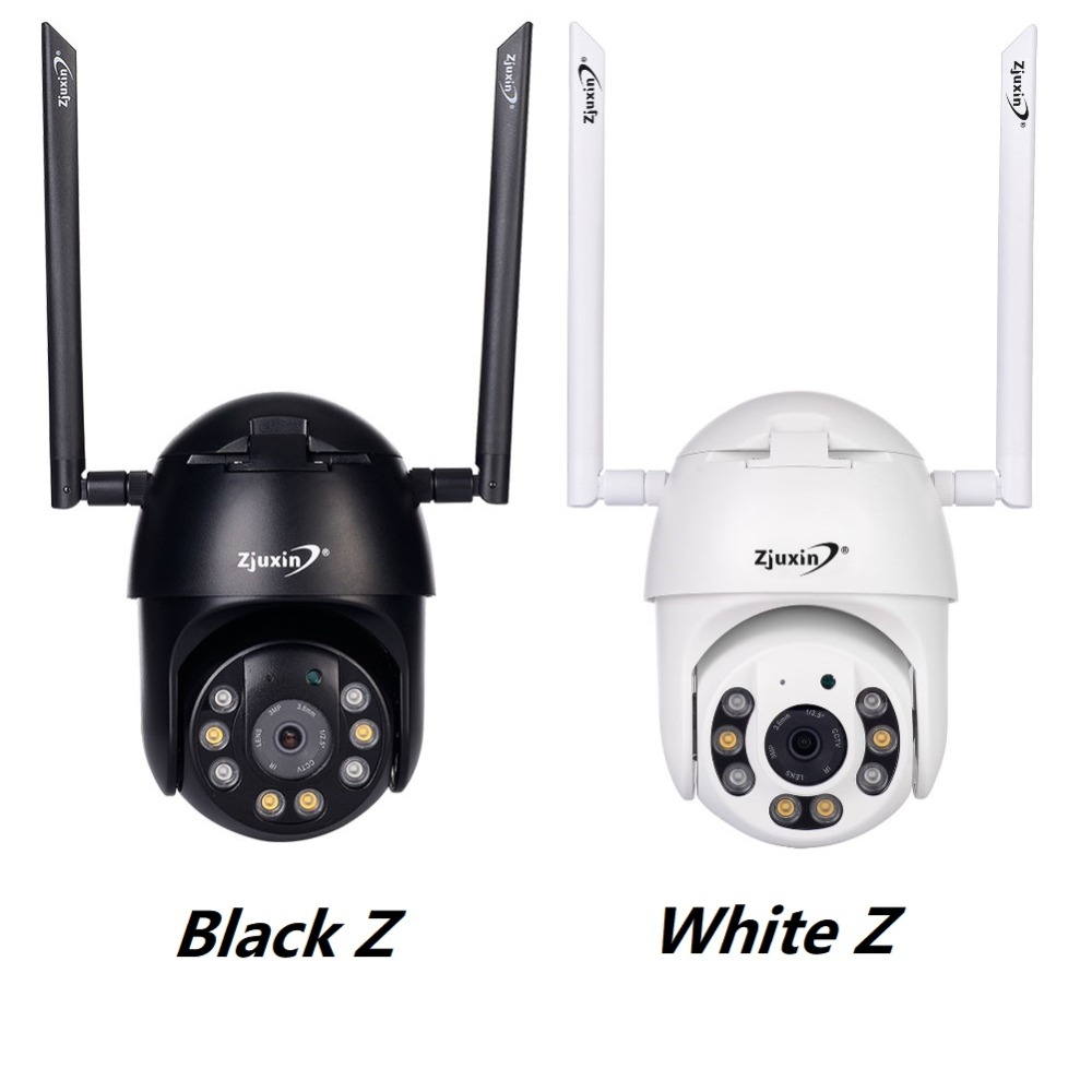 Hf9ae93d97ce1479c8f34f76449db7b836 Zjuxin PTZ IP Camera WiFi HD1080P Wireless Wired PTZ Outdoor CCTV Security Camra Double light human detection AI cloud camera
