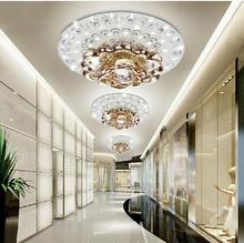 2020 New Modern stylish Simple porch LED crystal corridor Lamp corridor light modern simple crystal corridor ceiling light square corridor corridor porch lamp light led crystal ceiling lamp balcony kitchen bathroom home ceiling light zh