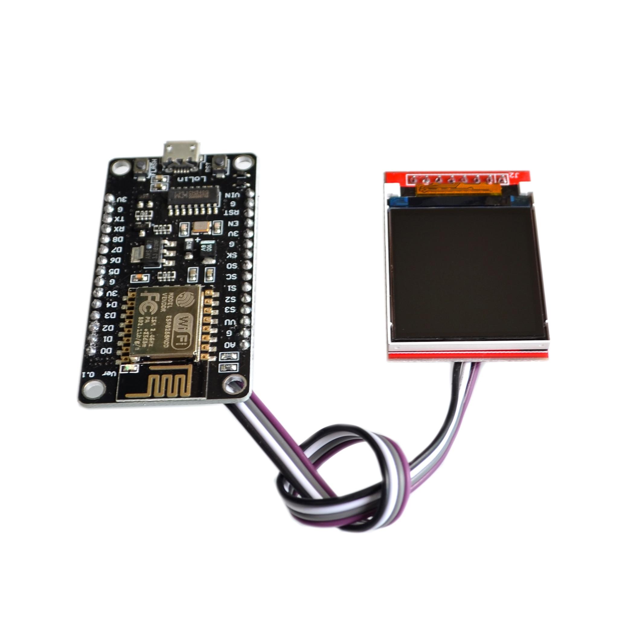 ESP8266 Development Kit with Display Screen TFT Show Image or Word by Nodemcu Board DIY Kit CH340 NodeMcu V3 Lua WIFI