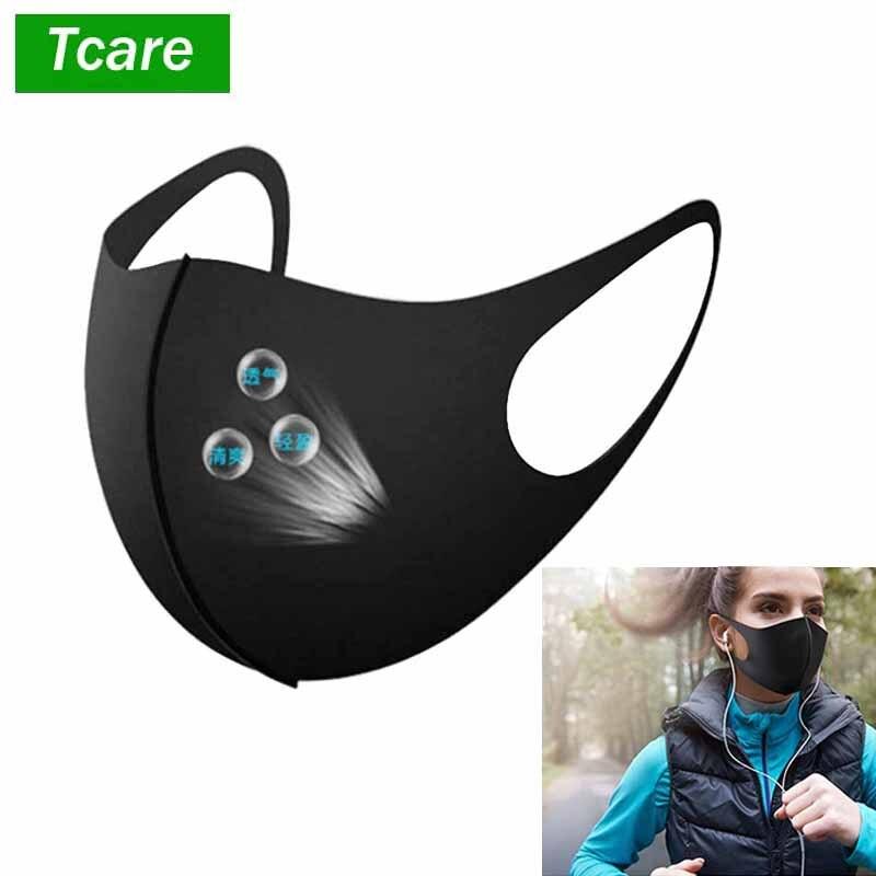 85.36грн. |1 шт., модная маска для лица, Пылезащитная маска, фильтр, Ветрозащитная маска для рта, защита от бактерий, маски для лица для защиты от гриппа, многоразовая моющаяся маска|Маски| |  - AliExpress