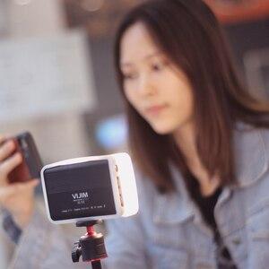 Image 5 - Vijim VL120 3200K 6500K LED Video DSLR kamera için ışık yumuşak ışık ile kutusu RGB renk filtresi soğuk ayakkabı cep dolgu ışığı