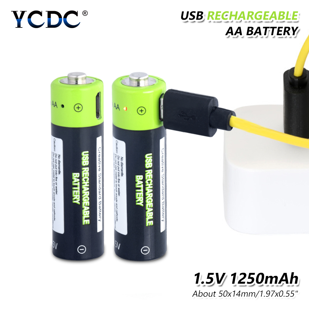 <font><b>1.5V</b></font> 1250mAh <font><b>AA</b></font> li-ion <font><b>Battery</b></font> 1.85Wh li-polymer with USB rechargeable <font><b>lithium</b></font> <font><b>aa</b></font> usb <font><b>battery</b></font> + USB cable <font><b>Charger</b></font> Kit For Clocks image