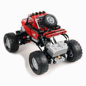 Image 4 - Monsters Bigfoot Camion Technic SUV RC Modello di Auto Building Block di Sport 2.4G Radio Giocattoli di Controllo Per I Bambini