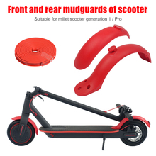 Electric Scooter Mud Fender Kit Anti-Wear Front Rear Mud Guard Splash Mudguard Protection