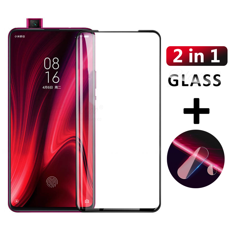 <font><b>2</b></font> in 1 9D Protective Glass for <font><b>Xiaomi</b></font> <font><b>Mi</b></font> 9T Pro <font><b>Screen</b></font> Camera Lens Tempered Glass <font><b>Protector</b></font> on the Xiomi Mi9T Pro Mi9tpro Film image