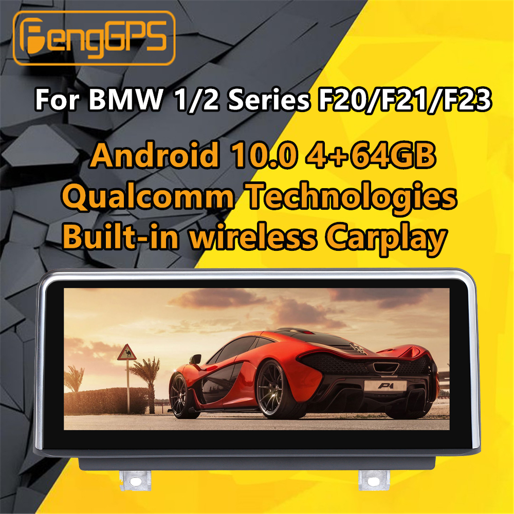 For <font><b>BMW</b></font> 1/2 Series <font><b>F20</b></font>/F21/F23 2011-2016 NBT Stereo Radio <font><b>Android</b></font> PX6 Snapdragon Car Multimedia Player DVD GPS Navi Head unit image