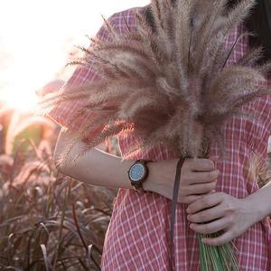 Image 5 - Bobo pássaro casal relógio de luxo marca madeira relógios semana data exibição quartzo relógios para homens feminino ótimo presente dropshipping oem