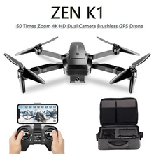 VISUO ZEN K1 GPS RC Drone 4K มุมกว้าง HD กล้องคู่ 5G WiFi FPV Brushless drones Quadcopter 50 ครั้งซูม 28 นาที VS F11
