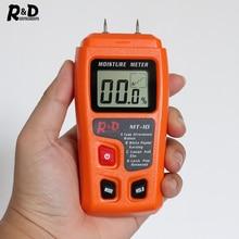 R& D MT-10 EMT01 измеритель влажности древесины гигрометр детектор влажности древесины тестер плотности деревьев серый оранжевый