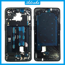 Middle Frame Plate Bezel Housing Cover with side key For OnePlus 1+6 6T Bezel Plate Cover For Oneplus 6 6T Case