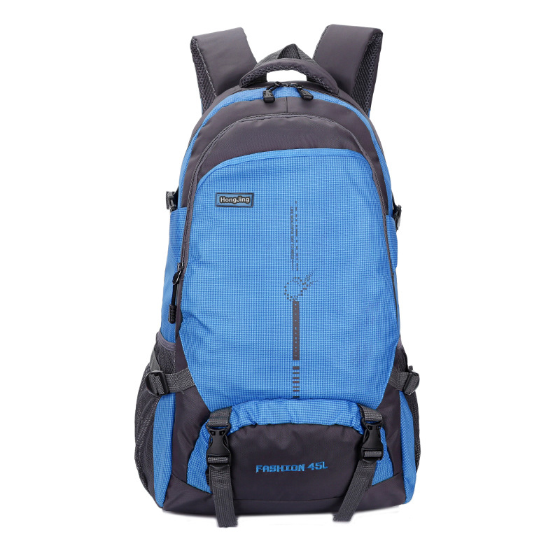 New Style Outdoor Mountaineering Bag 45l Backpack Waterproof Men And Women Travel Casual Sports School Bag