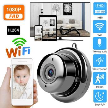 1080 HD Wireless Wifi Mini Camera Wireless network Home Security IR CCTV Camera DVR Night Vision Motion Detection Cam image
